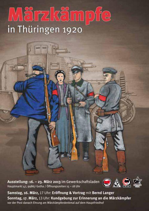Märzkämpfe in Thüringen 1920
